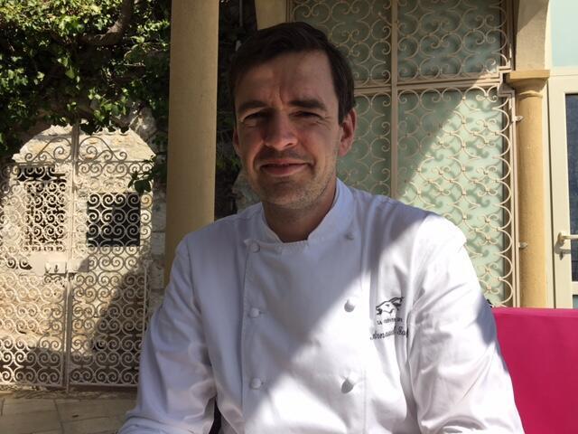 法國蔚藍海岸埃茲小城金山羊(La Cheve d'or)餐廳廚師費耶(Arnaud Faye)