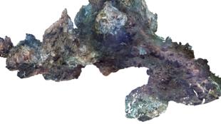 Fond des océans, modèle haute résolution 3D de la source hydrothermale Tour Eiffel.