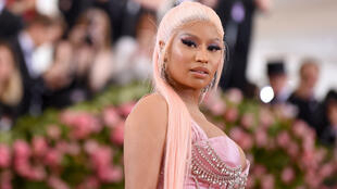 The father of Nicki Minaj, pictured in May 2019 at the Met Gala, was died in hospital after being struck in a hit-and-run