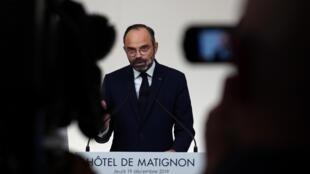 Le Premier ministre français s'est déclaré candidat à la Marie du Havre, qu'il a déjà dirigée.