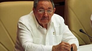 Cuba's President Raul Castro attends the bi-annual National Assembly meeting in Havana