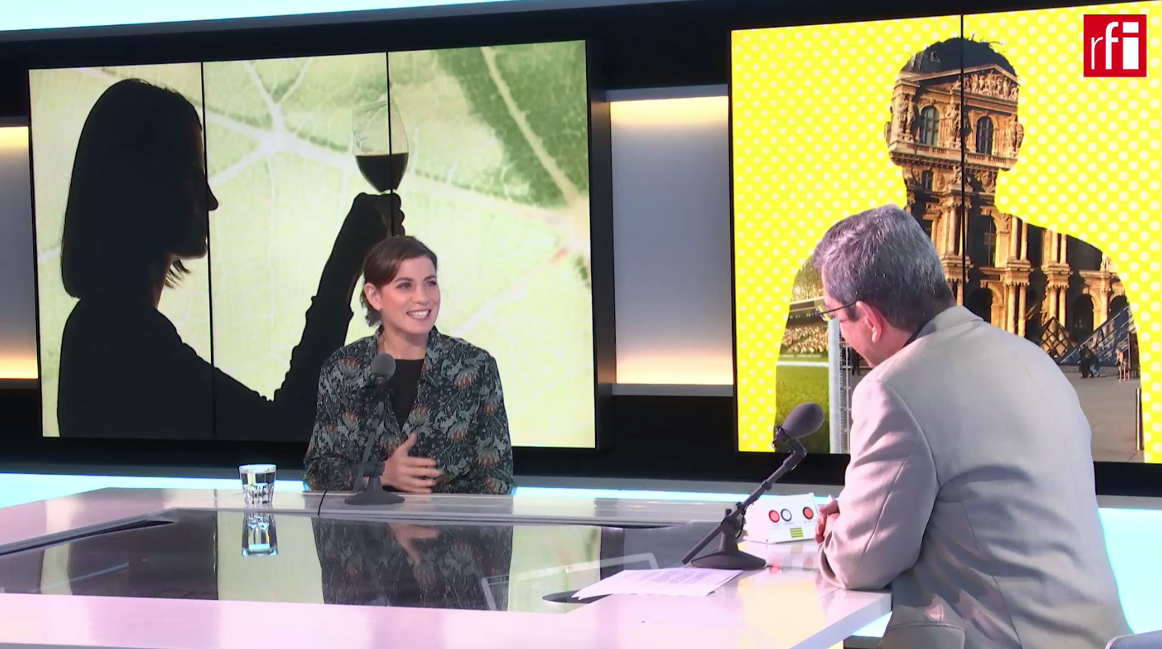 Paz Levinson, una de las mejores catadoras del mundo, está en Escala en París.
