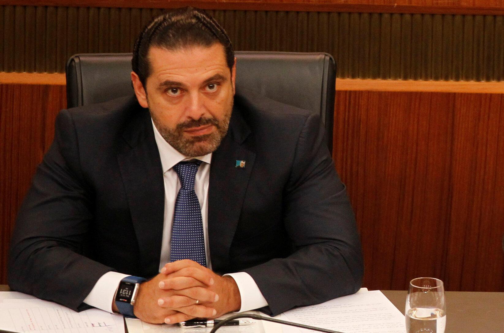 Saad Hariri, primeiro-ministro demissionário do Líbano.