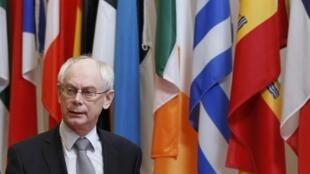 هرمان وان رومپی، رئیس اتحادیه اروپا