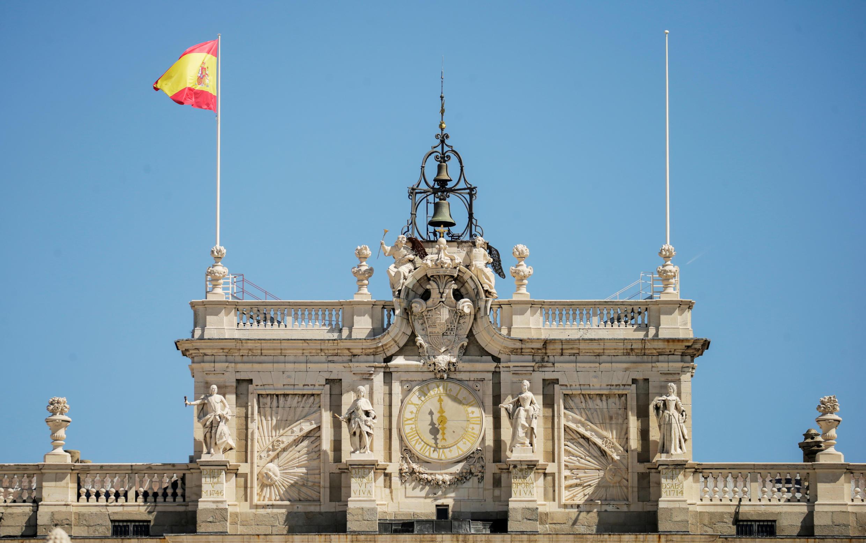 Ảnh minh họa : Hoàng cung ở Madrid, Tây Ban Nha. Ảnh chụp ngày 04/08/2020.