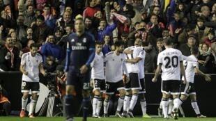 Valencia ta rike Real Madrid ci 2 da 2 a La liga