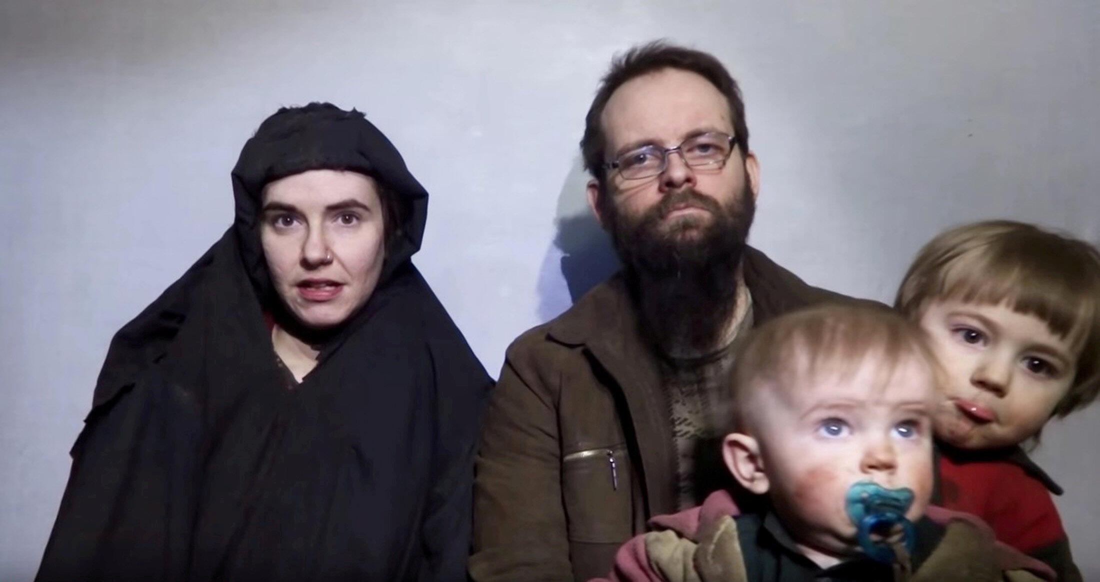 被巴基斯坦恐怖分子監禁5年美加夫婦一家庭獲釋