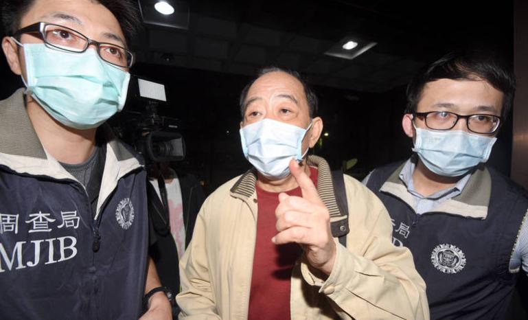 台灣軍情局涉事退役上校張超然資料圖片