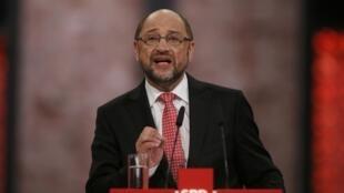 O ex-presidente do Parlamento Europeu Martin Schulz foi eleito neste domingo por unanimidade como líder do Partido Social-Democrata alemão (SPD).