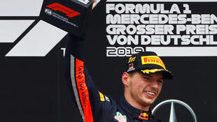 Max Verstappen won his second race of the season at the German Grand Prix.