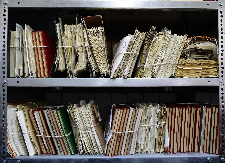 Les archives de la Stasi, ancienne police secrète est-allemande, sont conservées au musée Stasi, à Berlin.