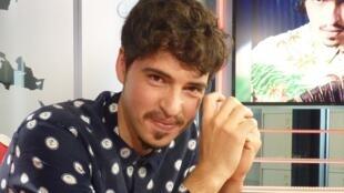 Mariano Godoy en los estudios de RFI