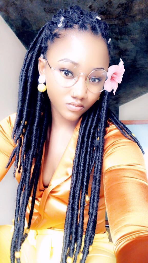 Gambian beauty queen Touffah Jallow