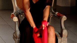 A atriz brasileira Janaína Alves trabalha há seis anos com projetos teatrais em Cabo Verde.