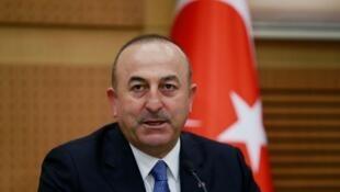 مولود چاووش اوغلو وزیر امور خارجۀ ترکیه