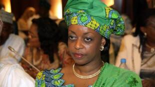 Tsohuwar ministar man fetur a Najeriya Diezani Allison-Madueke wadda yanzu haka ke fuskantar tuhumar rashawa.