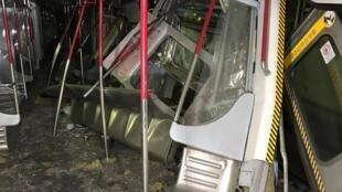 港鐵罕見發生兩車碰撞事故