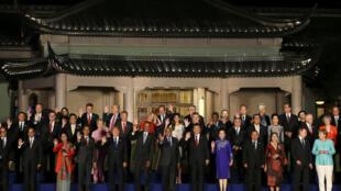 G20首脑合影:除了经济发展各国首脑还在关心什么?