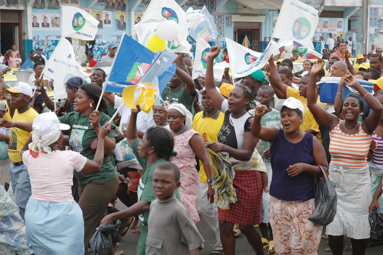 Campanha eleitoral em São Tomé