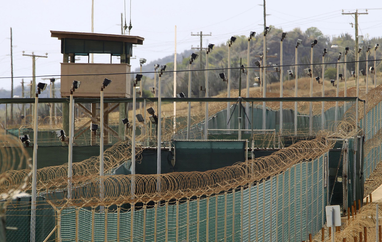 Le camp Delta, dans la base de Guantanamo, en mars 2013.