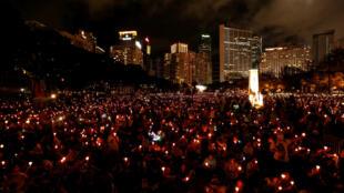 Des milliers de personnes ont pris part çà une veillée ce lundi 4 juin pour commémorer les 29 ans du massacre de Tiananmen.