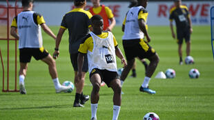 Borussia Dortmund's 15-year-old Youssoufa Moukoko is considered one of the most exciting talents in European football