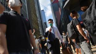 Le port du masque lors des manifestations à Hong Kong est désormais interdit.