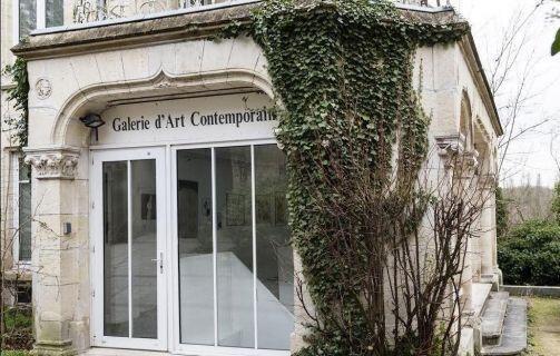 Fachada de la galeria de Auvers sur Oise