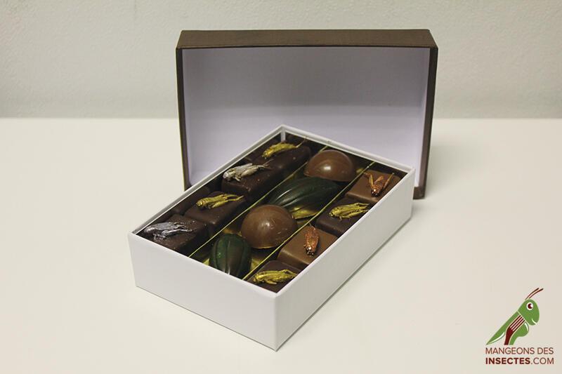 Os chocolates produzidos pela empresa francesa Micronutris são finos e muito bonitos.