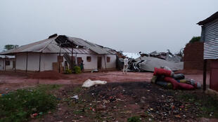 Cenário de destruição deixado pelas intempéries em Bissau e arredores desde finais de Junho de 2018.