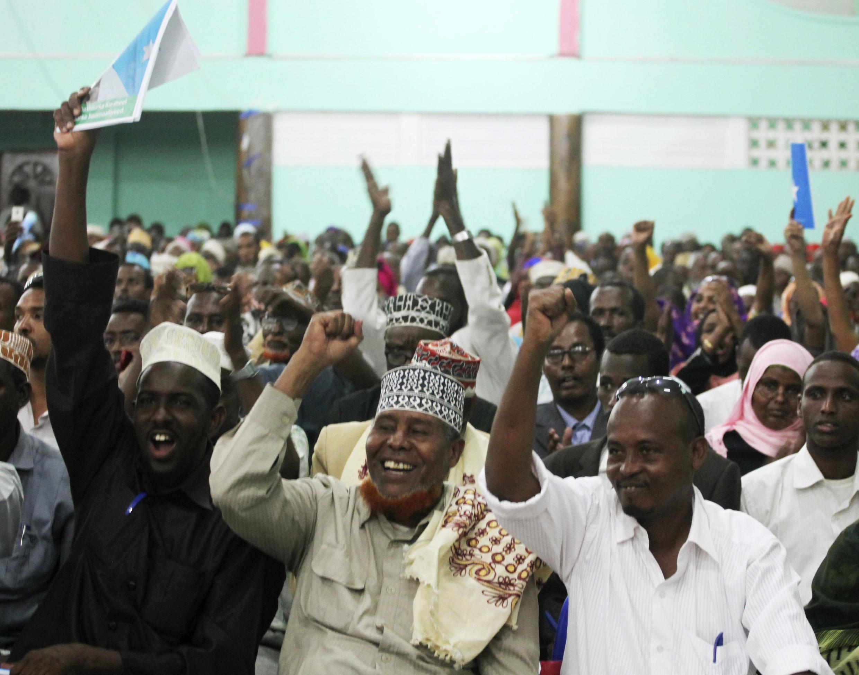 Des délégués de la chambre basse du Parlement en Somalie (image d'archive).