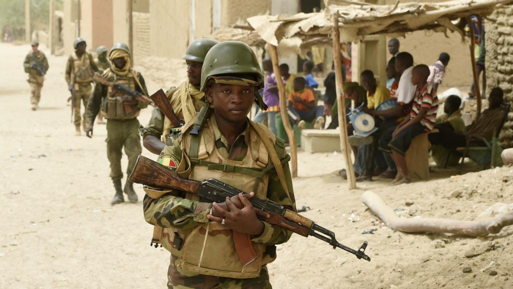wanajeshi wa Mali, hapa ni katika mji wa Goundam, karibu na Tombouctou.