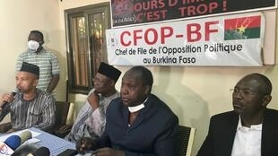 IMAGE BURKINA FASO Candidats Opposition 23/11/2020