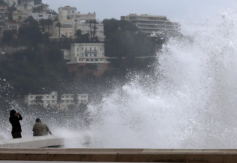 Storm Dirk hit crossed the country this week