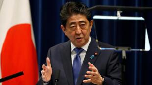 Thủ tướng Nhật Bản Shinzo Abe, thông báo giải tán Quốc Hội và tổ chức bầu cử trước thời hạn.