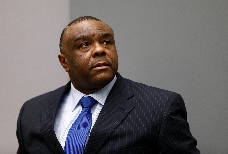 Jean-Pierre Bemba, antigo vice-presidente da RDC, na audiência de 21 de Junho de 2016.