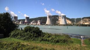 A usina nuclear de Cruas-Meysse, no sudeste da França.