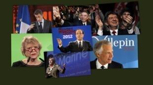 Quem é quem na batalha pelo poder máximo francês?