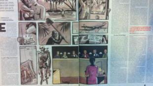 O jornal Libération enviou uma repórter para acompanhar o julgamento da brasileira Denize Soares em Grenoble.