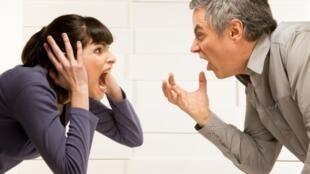 Illustration d'une dispute de couple.