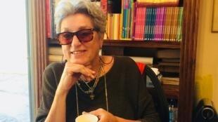 Zeina Badran, librairie Les Livres de France au  Caire.