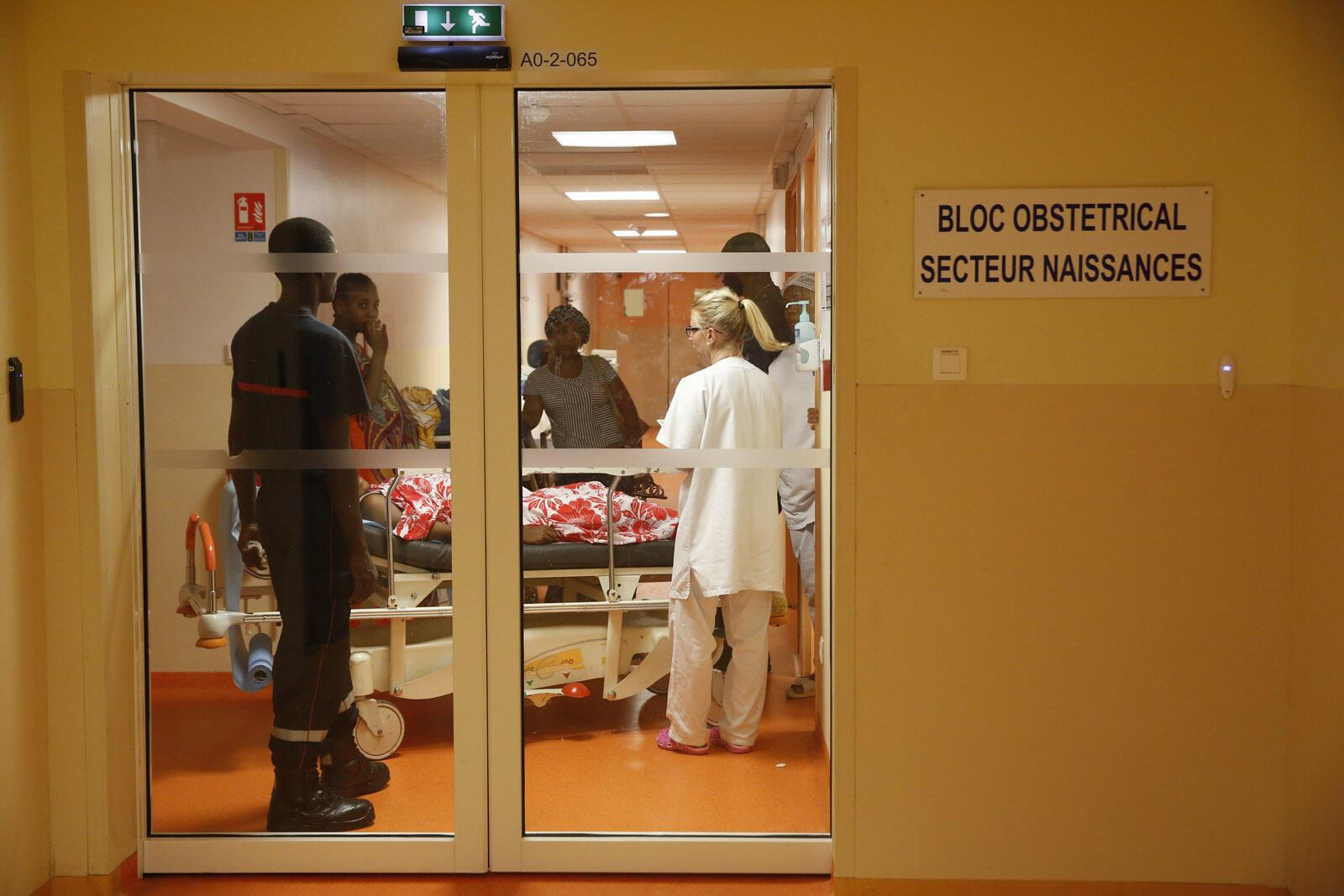 L'hôpital de Mayotte.