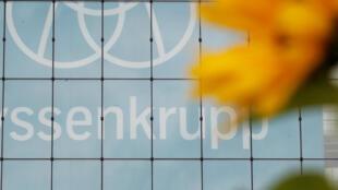 Le siège du groupe allemand ThyssenKrupp à Essen en Allemagne.