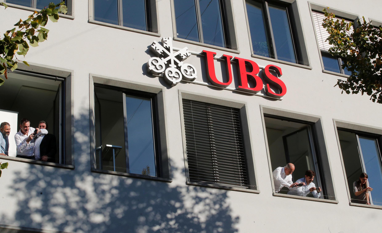 Ginin bankin UBS a Switzerland