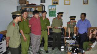 Mục sư Nguyễn Công Chính bị công an Gia Lai bắt giam.