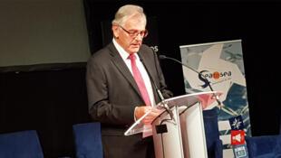 Maurice Benoish, président du port de pêche de Lorient et président du Salon ITECHMER.