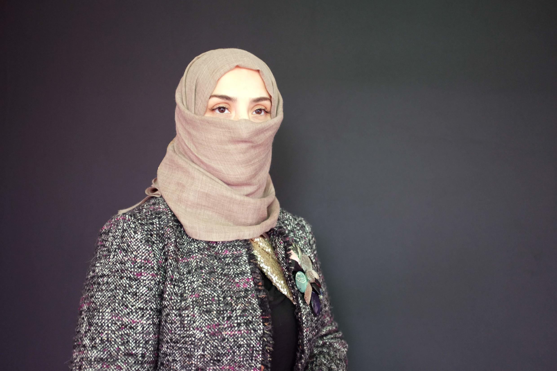 L'artiste saoudienne Maisa Shaldan.