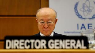 یوکیو آمانو مدیر کل آژانس بینالمللی انرژی اتمی