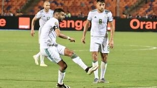 Riyad Mahrez scored Algeria's winner against Nigerian.