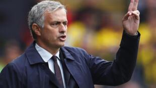 Kocha wa Manchester United, Jose Mourinho ambaye timu yake mwishoni mwa juma ilifungwa na Watford
